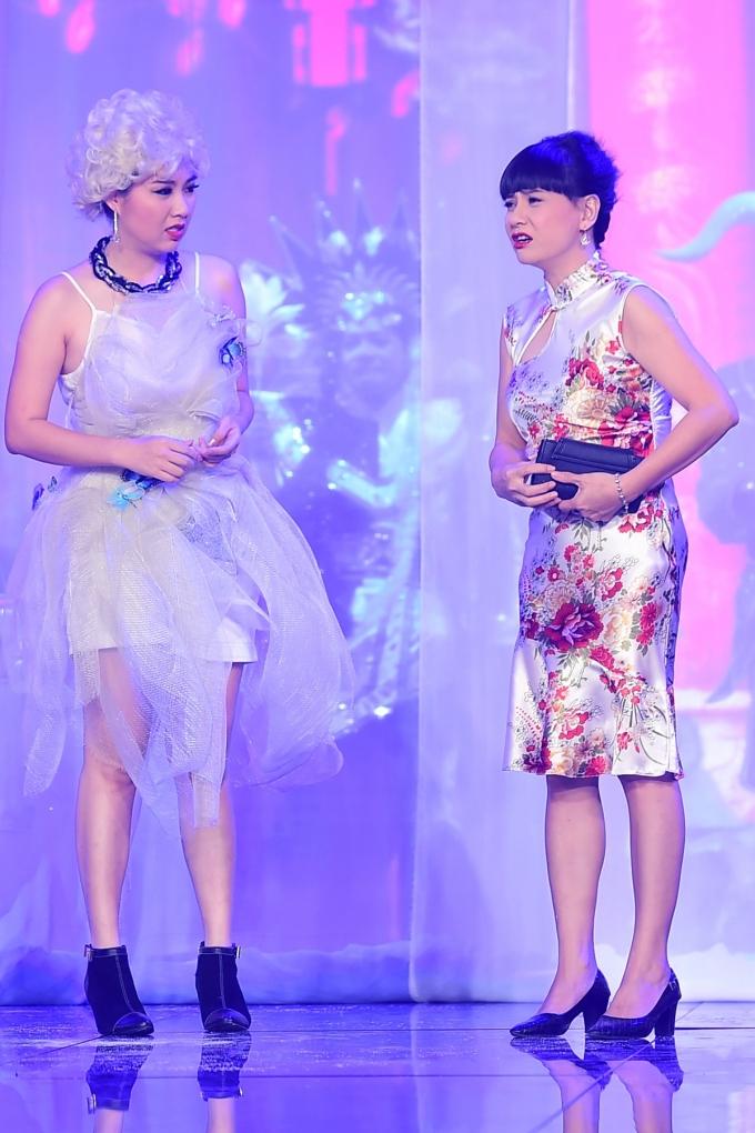 Ngắm thời trang vừa độc vừa lạ trong Diêm Vương xử án của Lê Khánh