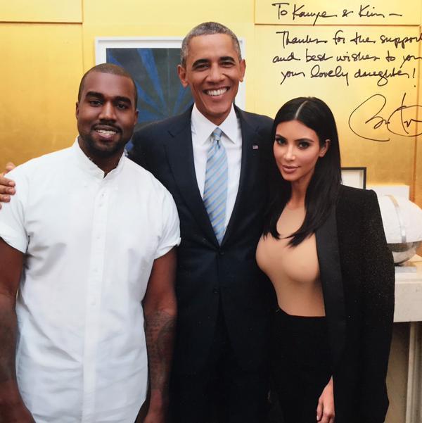 Kim Kardashian cũng bày tỏ sự cảm kích Tổng thống Obama khi ủng hộ hôn nhân đồng giới: