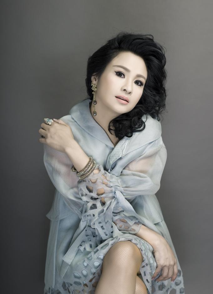 Ca sĩ Thanh Lam.