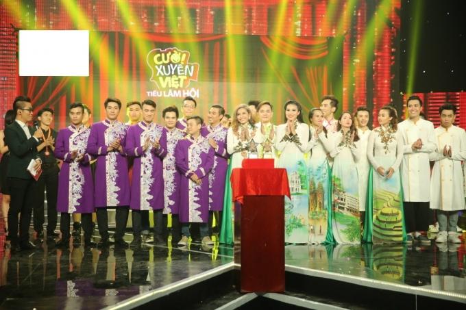 Chung kết Cười xuyên Việt 2016: Hy hữu X-pro và Buffalo cùng đăng quang quán quân