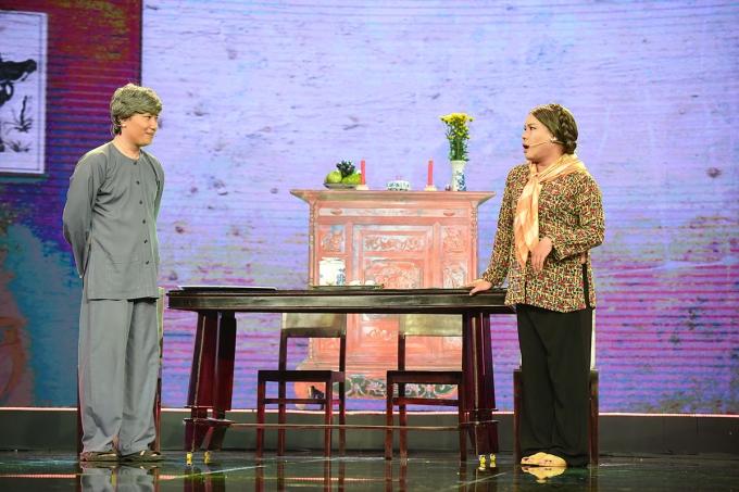 Làng hài mở hội tập 6: NSND Ngọc Giàu tiết lộ cuộc sống hay gây gổ với chồng khi làm giám khảo