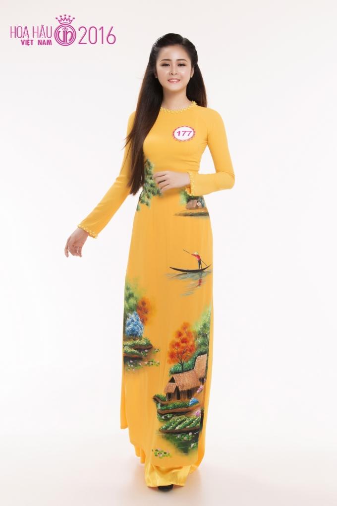 Đặng Thị Nguyệt Tiên sinh năm 1996 đến từ Cà Mau.