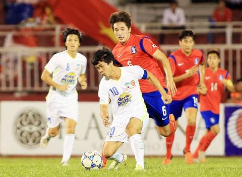 Công Phượng và đồng đội tái đấu U19 Hàn Quốc