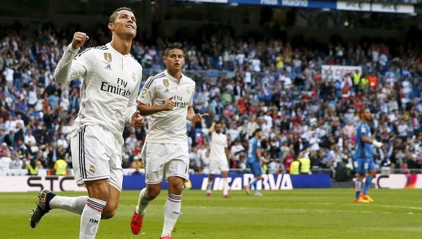 Ronaldo cùng các đồng đội đang thi đấu tốt trướcGetafe