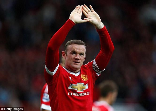 Rooney có trận đấu thứ 500 trong màu áo Manchester United