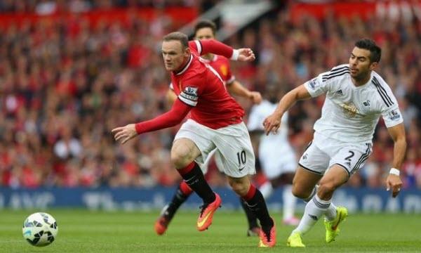 Rooney tiếp tục lĩnh xướng hàng công của Manchester United
