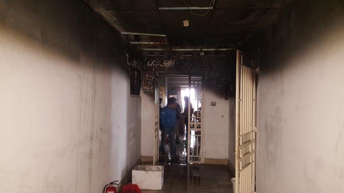 Nguyên nhân ban đầu được xác định là do bà cụ lẩn thẩn gây ra vụ cháy ở căn hộ tại tầng 10 tòa nhà chung cư.