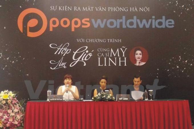 Họp báo ra mắt văn phòng Hà Nội của POPS Worldwide và chương trình Hợp Âm Gió