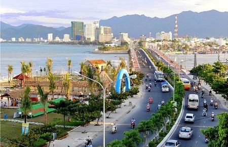 Một góc thành phố Nha Trang, tỉnh Khánh Hòa