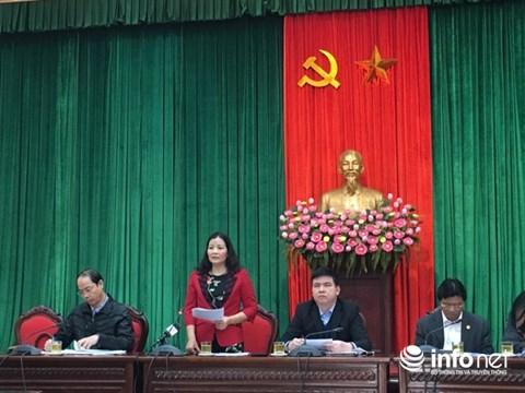 Phó Giám đốc Sở Công Thương Hà Nội Trần Thị Phương Lan