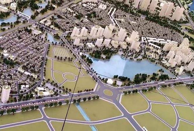 Hà Nội điều chỉnh 5 ô đất khu công viên phần mềm Đông Anh. Nguồn: Internet