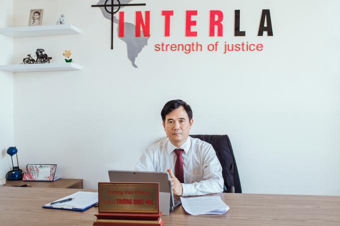 Luật sư Trương Quốc Hòe - Trưởng VP Luật sư Interla.