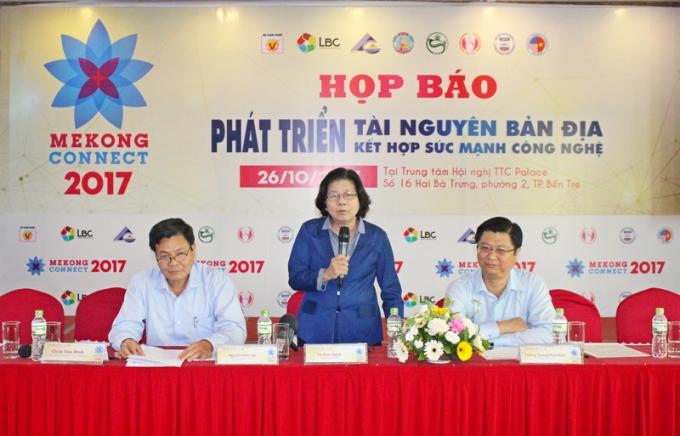 Bà Vũ Kim Hạnh, Chủ tịch Hội doanh nghiệp HVNCLC cho biết, diễn đàn Mekong Connect thu hút sự quan tâm của nhiều tổ chức quốc tế.