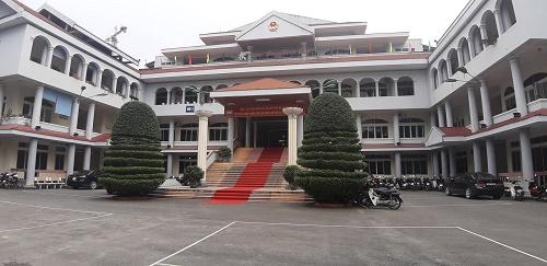 Trụ sở UBND TP Cao Bằng.