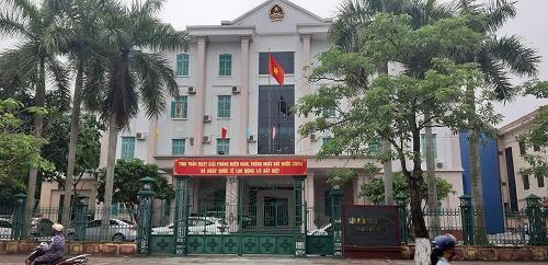 Viện kiểm sát nhân dân tỉnh Thái Bình