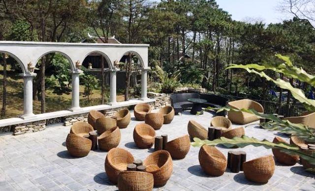 Dự án Le Mont Ba Vì Resort & Spa sắp đưa vào khai thác thì bị đình chỉ vì xây không phép.
