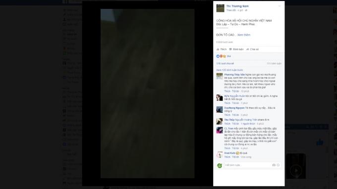 Bên cạnh những lời chia sẻ là những bức xúc của các Facebooker.