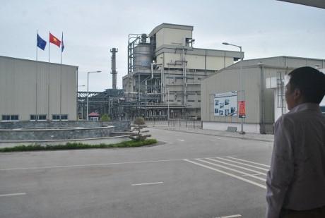 Nhà máy PVTex Hải Phòng. Ảnh: Lương Bằng.
