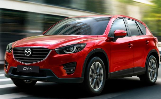 Mẫu Mazda CX5 có mức giảm giá khá mạnh.