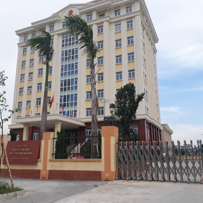 Trụ sở Cục thuế tỉnh Hà Nam.