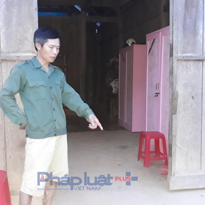 Địa điểm xảy ra vụ xô xát dẫn đến thương tích của Đinh Thị Lụa.