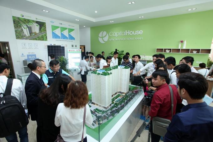 """Chương trình """"Chào mừng cất nóc dự án EcoHome Phúc Lợi"""" sẽ được Capital House tổ chức với nhiều ưu đãi hấp dẫn dành cho khách hàng."""