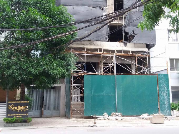 Công trình khách sạn Sen.