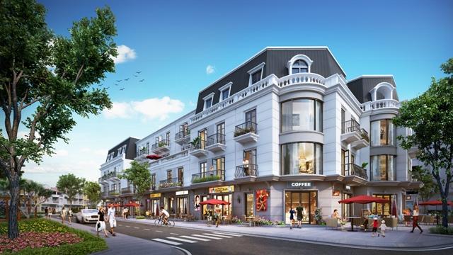 Vincom Shophouse Thái Nguyên có thiết kế sang trọng và bố trí mặt bằng hợp lý, phục vụ cả 2 công năng: sinh hoạt và kinh doanh