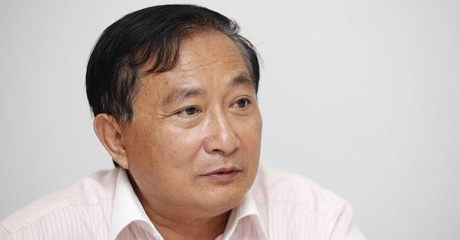Ông Nguyễn Văn Đực, Phó giám đốc Công ty Địa ốc Đất Lành - Ảnh: BizLIVE.