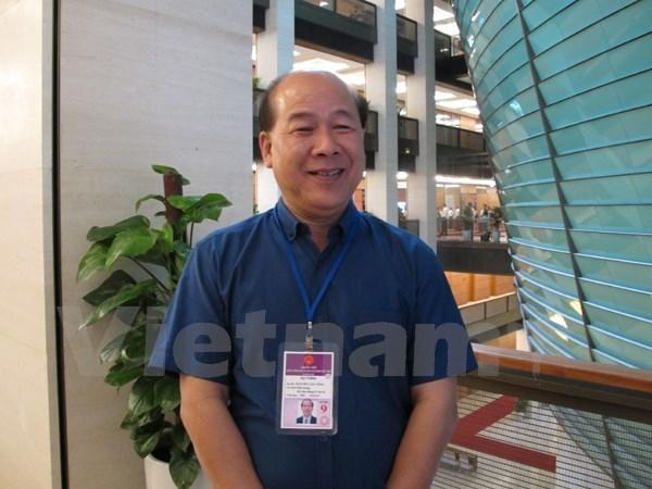 Thứ trưởng Bộ Giao thông Vận tải Nguyễn Văn Công. Ảnh: vietnamplus.vn