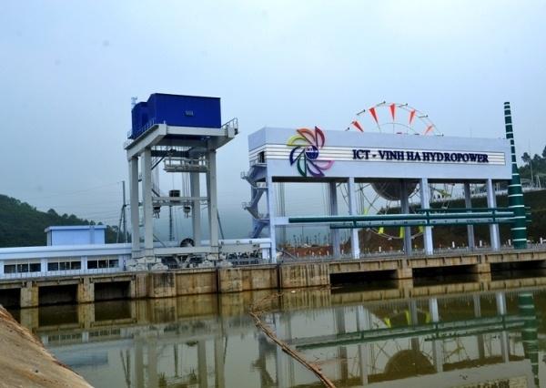 Nhà máy Thủy điện Vĩnh Hà. Ảnh: QT