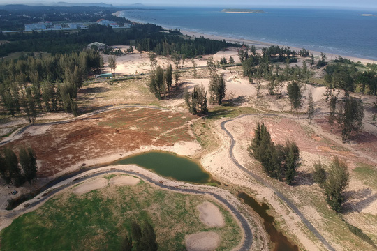 Dự án Khu du lịch liên hợp cao cấp New City phá 40 ha rừng trái phép