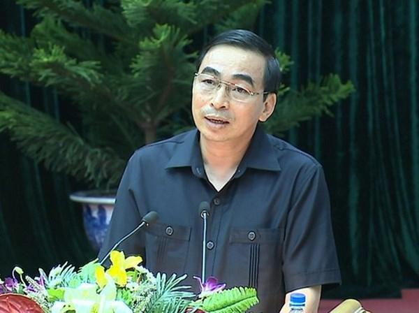 Ông Đinh Văn Điến - Chủ tịch UBND tỉnh Ninh Bình (ảnh Soha.vn)