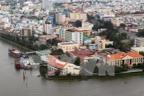 Quy hoạch đô thị thích ứng với biến đổi khí hậu.Ảnh minh họa: TTXVN