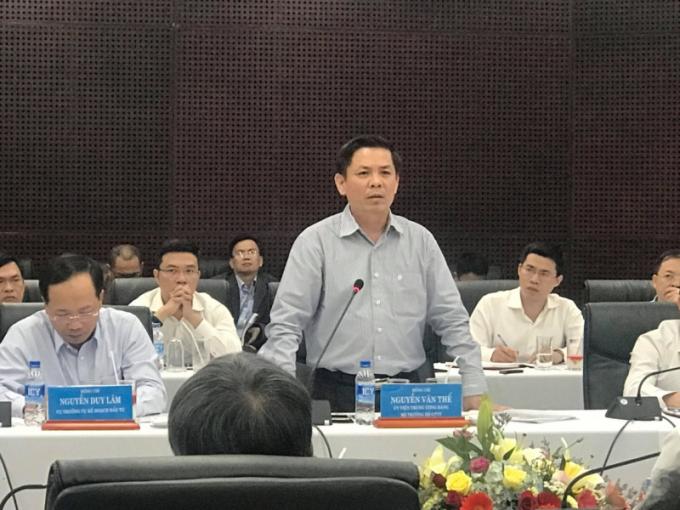 Đối với Dự án cảng Liên Chiểu, Bộ trưởng Bộ Giao thông Vân tải Nguyễn Văn Thể đề nghị các đơn vị liên quan chậm nhất là 15 ngày tới phải hoàn thành công tác thẩm định Báo cáo nghiên cứu tiền khả thi.