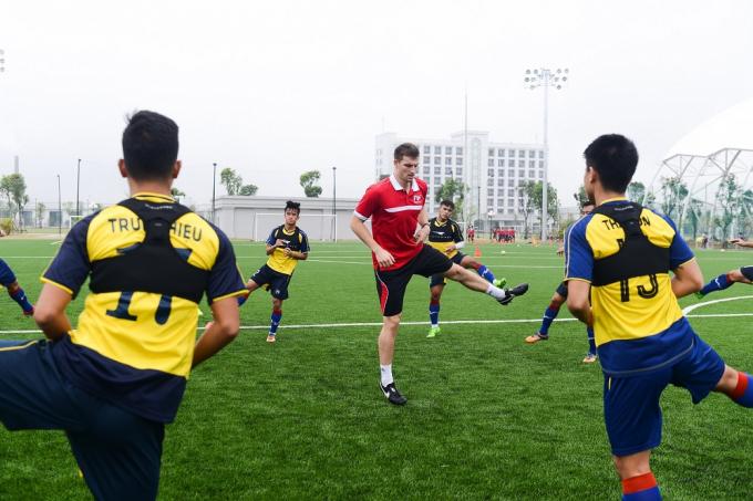 PVF là nơi quy tụ các huấn luyện viên, chuyên gia hàng đầu cả trong và ngoài nước.