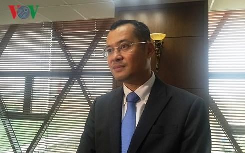 Ông Phạm Đại Dương, Thứ trưởng Bộ Khoa học và Công nghệ: các doanh nghiệp du lịch cần phải sẵn sàng cho sự chuyển đổi số mạnh mẽ. (Ảnh: Vân Anh)