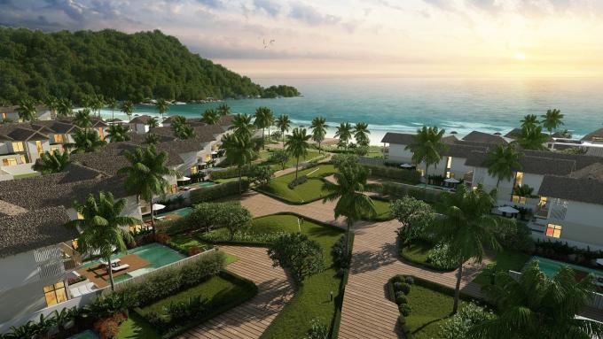 Dự án Sun Premier Village Kem Beach Resort có vị trí đắc địa tại Bãi Kem, Nam Phú Quốc