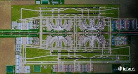 Một thiết kế dự kiến của sân bay Long Thành.