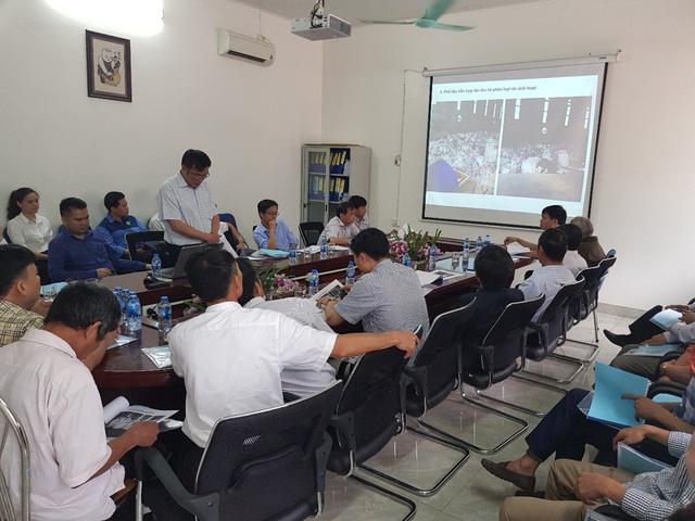 Đoàn công tác ghi nhận về công nghệ hiện đại và sự đảm bảo vẹ sinh môi trường của nhà máy Thuận Thành EJS.