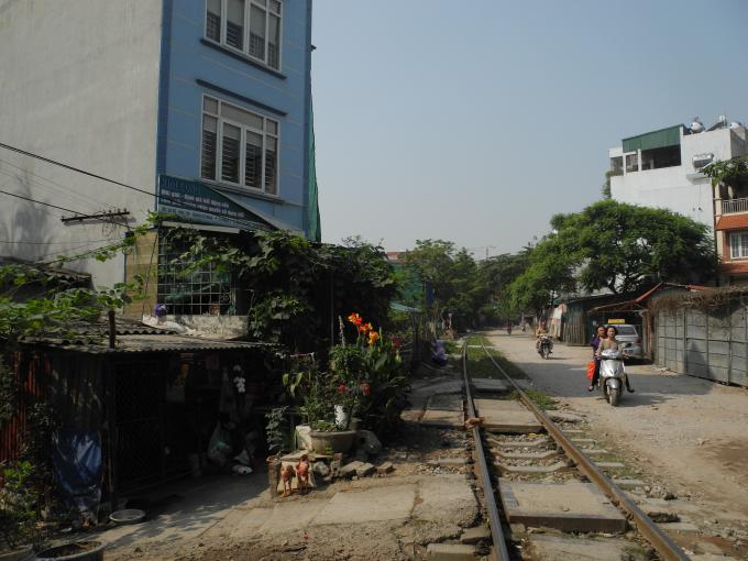 Khu vực xóm 12 phường Cổ Nhuế 2.