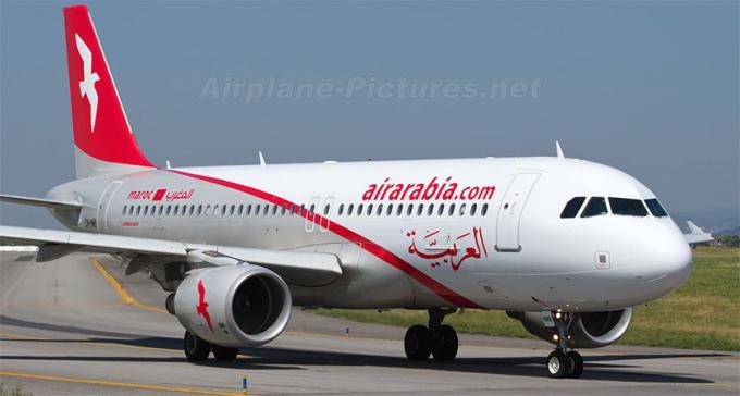 Hãng Air Arabia, một hãng hàng không của Các Tiểu Vương Quốc Ả Rập Thống Nhất, có biểu tượng hình cánh chim trắng sải cánh trên nền đỏ nổi bật, thể hiện khát vọng bay cao vươn xa, chinh phục những miền đất mới.
