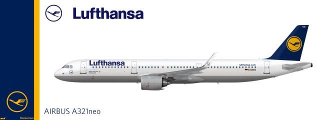 Biểu tượng chim hạc là một biểu tượng lâu đời, đặc trưng của Lufthansa, hãng hàng không lớn nhất của Đức, được xây dựng lần đầu vào năm 1918. Sau nhiều năm, tuy có một số thay đổi về màu sắc nhưng hình ảnh chủ đạo vẫn được giữ nguyên.