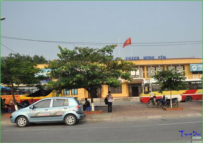 Bến xe khách Hưng Yên. (nguồn Internet).