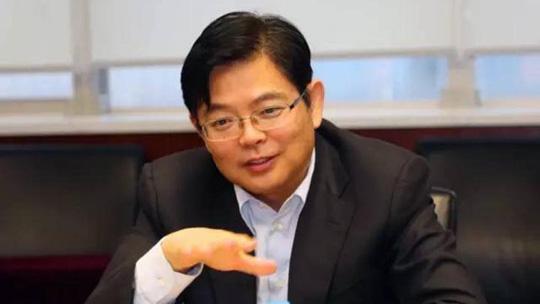 Tổng giám đốc Tập đoàn Công nghiệp đóng tàu Trung Quốc (CSIC) Tôn Ba. (Ảnh: SCMP)