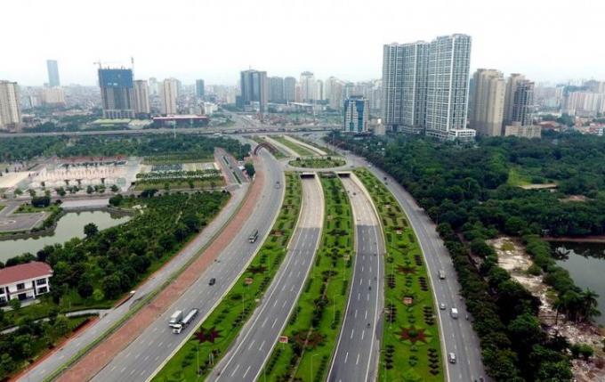 Hà Nội sẽ đổi 40 ha đất ở Nam Từ Liêm lấy 2,85 km tuyến đường Lê Trọng Tấn nối Vành đai 3 bằng hình thức BT.