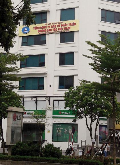 Trụ sở VEC tại tòa nhà Central Point Trung Kính được mua lại từ một phầndự áncủa Công ty TNHH 19.12 Bắc Hà
