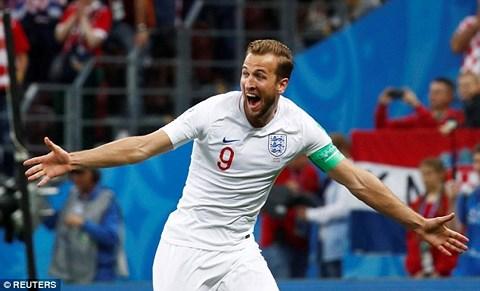 Harry Kane trở thành Vua phá lưới World Cup 2018 với 6 bàn thắng.