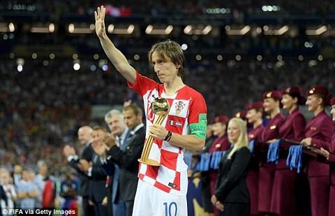 Luka Modric xứng đáng với danh hiệu Quả bóng vàng World Cup 2018.