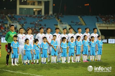 Đội hình chính của U23 Việt Nam thi đấu tối nay